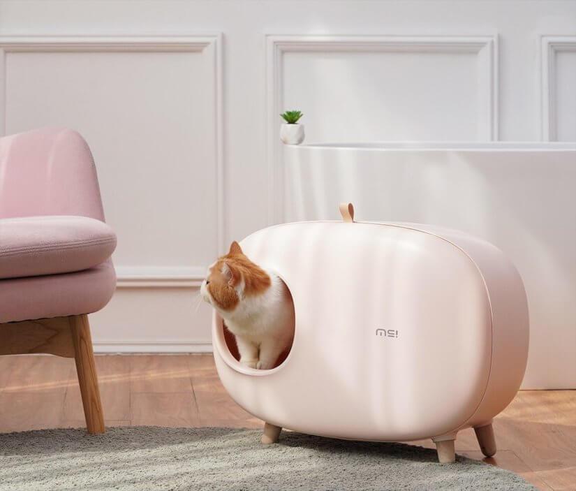 Туалет для кошек закрытый