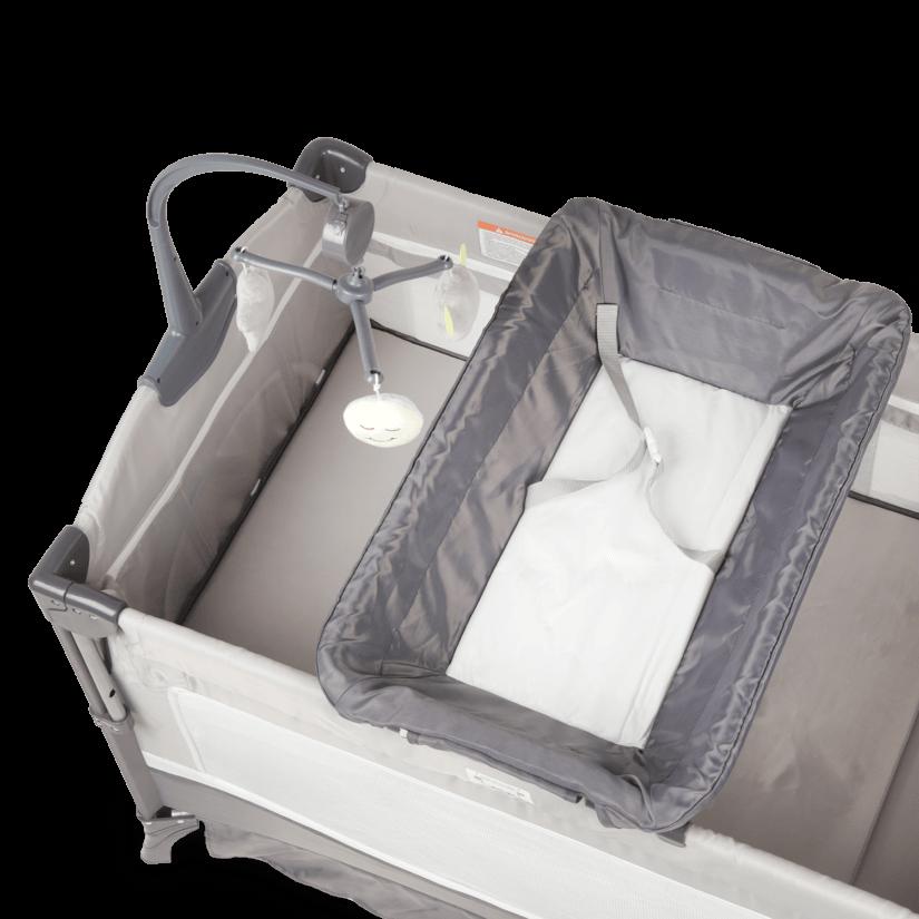 Детская кроватка-трансформер 2 в 1